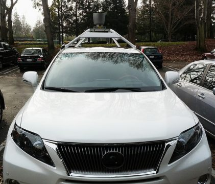 self-driving electric vehicle