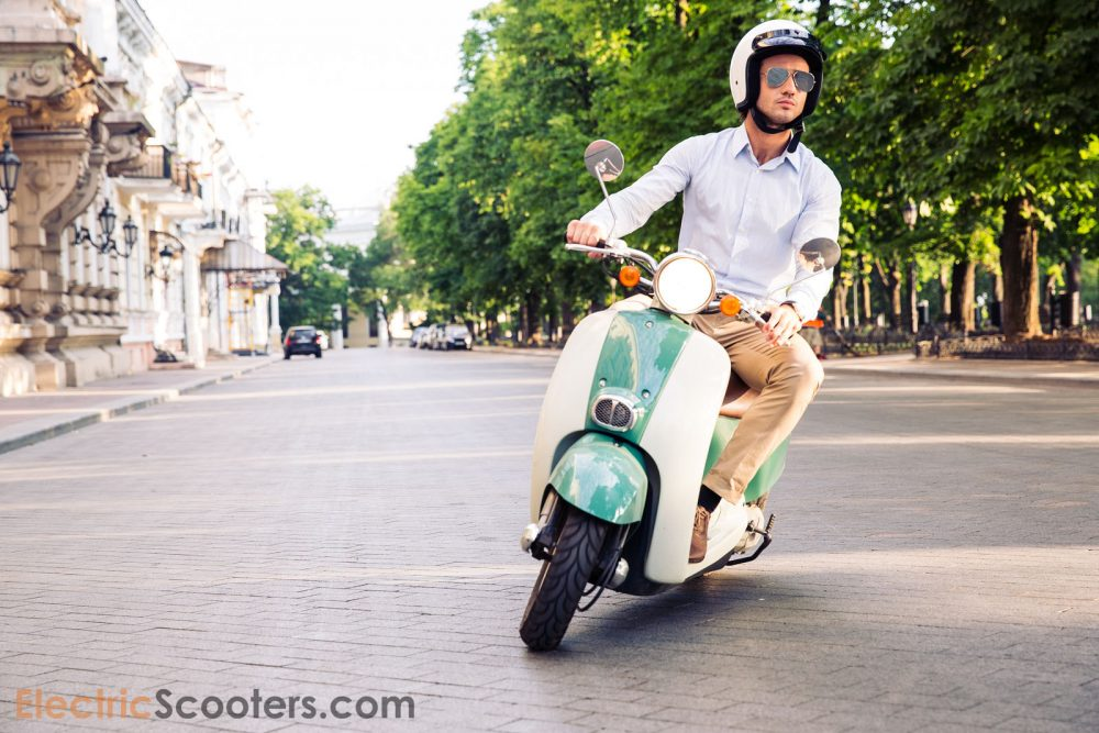 electric scooter is a viable transportation