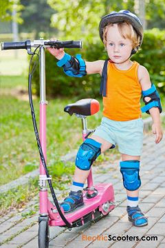 Electric Scooters for 6-years old