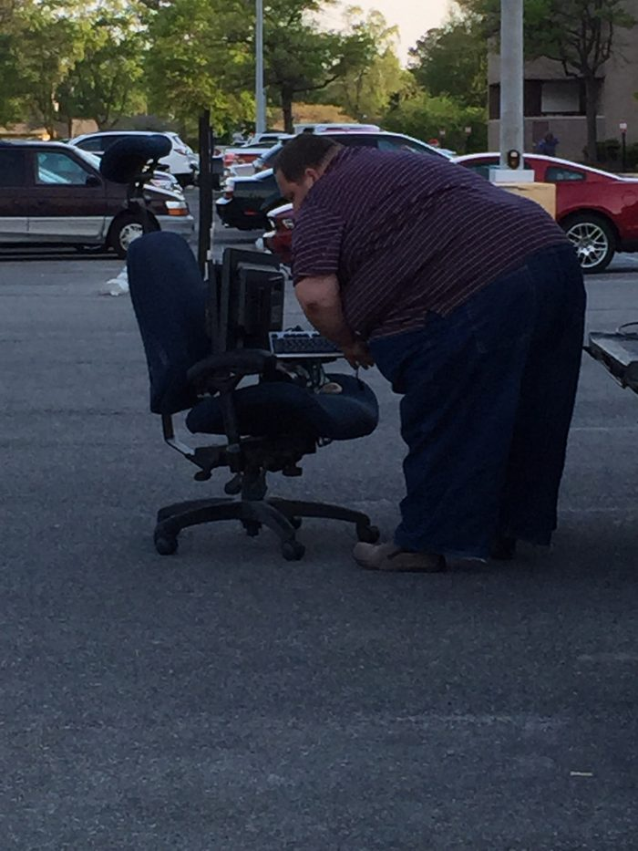 a fat guy looking for mobility scooter