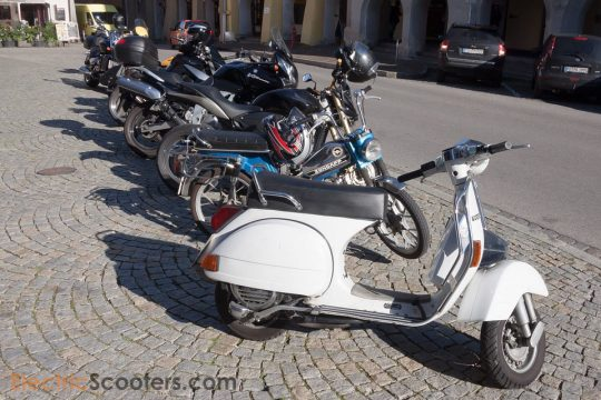 various electric vehicles