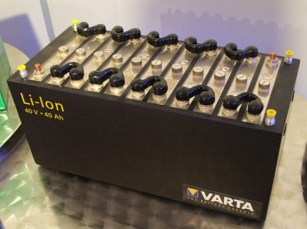 Electric Car Battery Lithium Ion