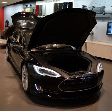 electric cars, tesla model s