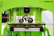 electric motorcycle, electric bike, 3d printed motorcycle, 3d printed bike