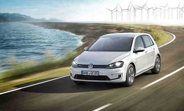 electric cars, volkswagen e-leaf