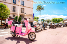 pink scooter, hoverboard