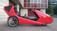 electric velomobile