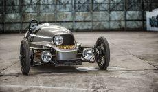 three-wheel electric car