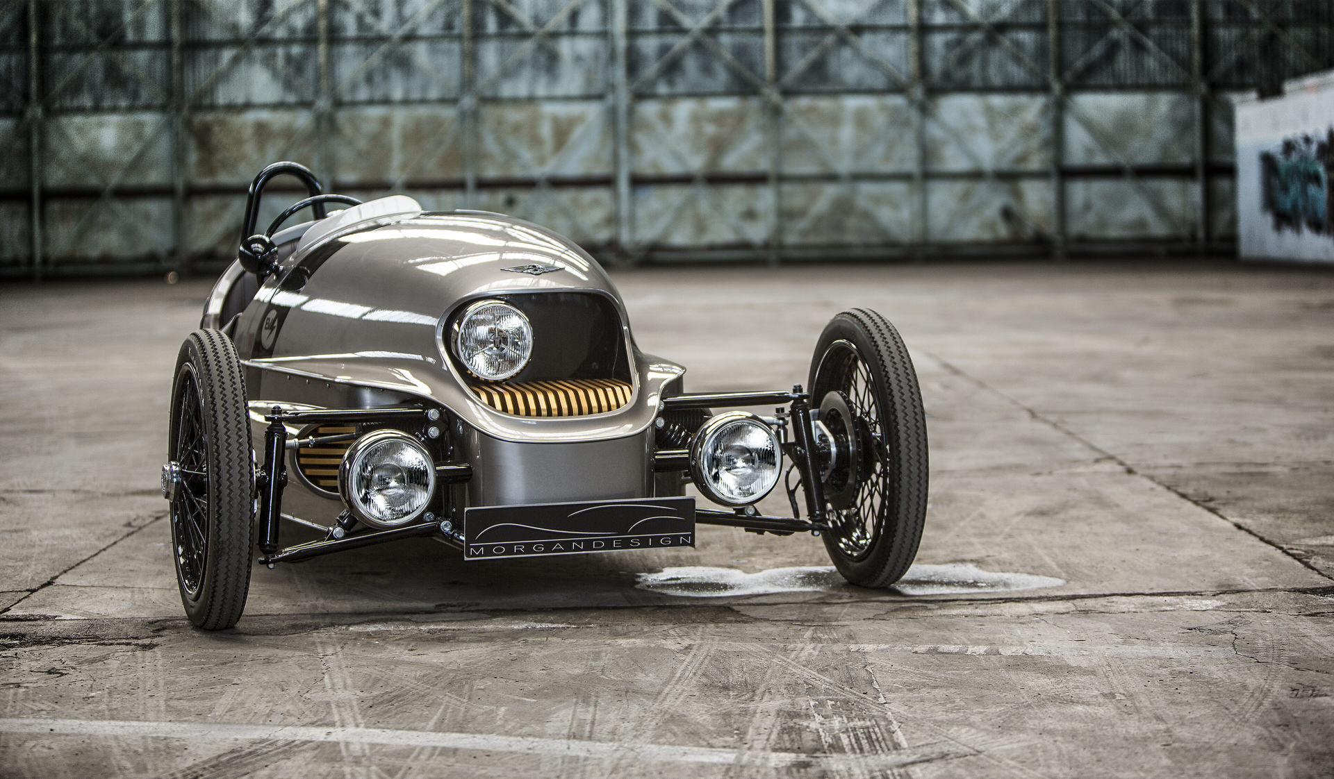 Fancy A Three Wheeler Electric Car No Worries The Morgan Ev3 Got You Covered