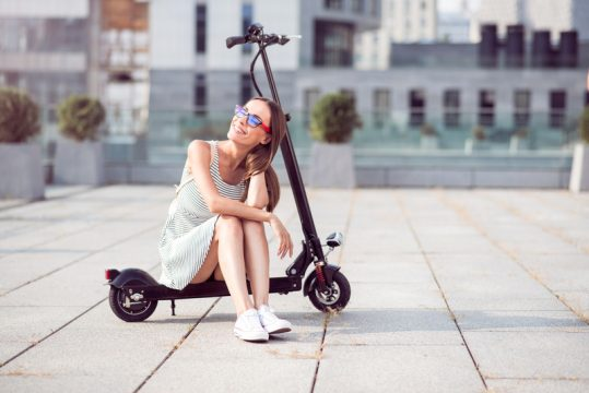 Environment Friendly Electric Scooters