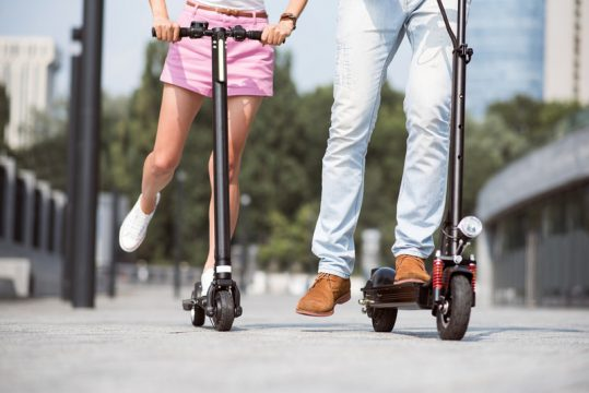 future of electric scooters