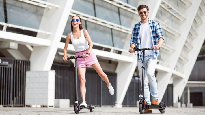 Electric Kick Scooter Sharing