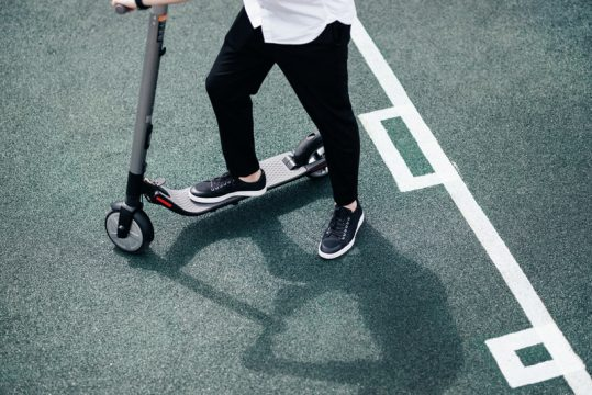 Safety Precautions on Electric Scooters