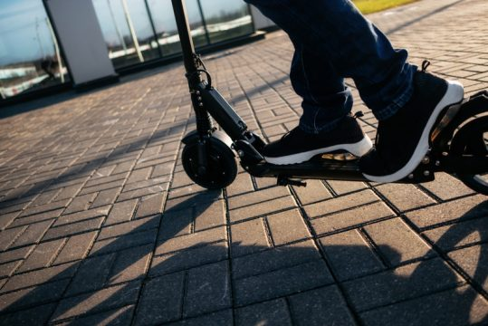 the Electric Kick Scooters