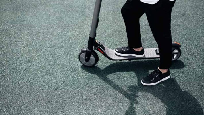 Social Distancing and Electric Scooters