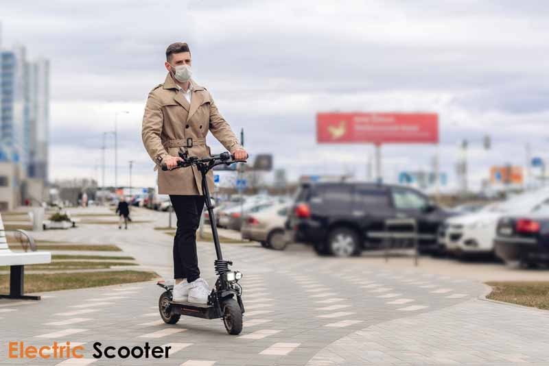 Teleoperated Electric Kick Scooters