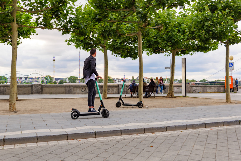 Electric Scooters Good for the Environment
