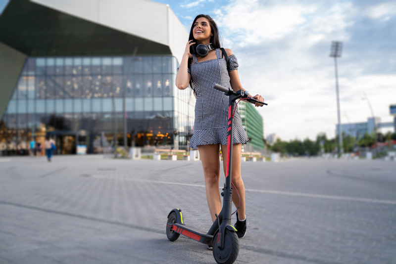 Electric Riding Scooters