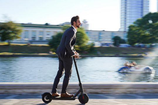 A Electric Scooter
