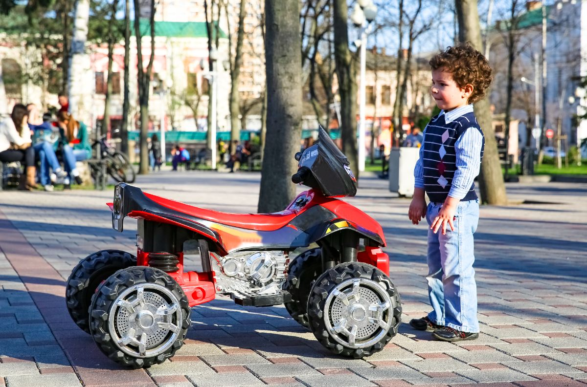 4 Wheel Off Road Electric Scooters