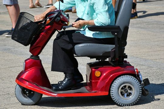 Foldable Electric Scooter For The Elderly