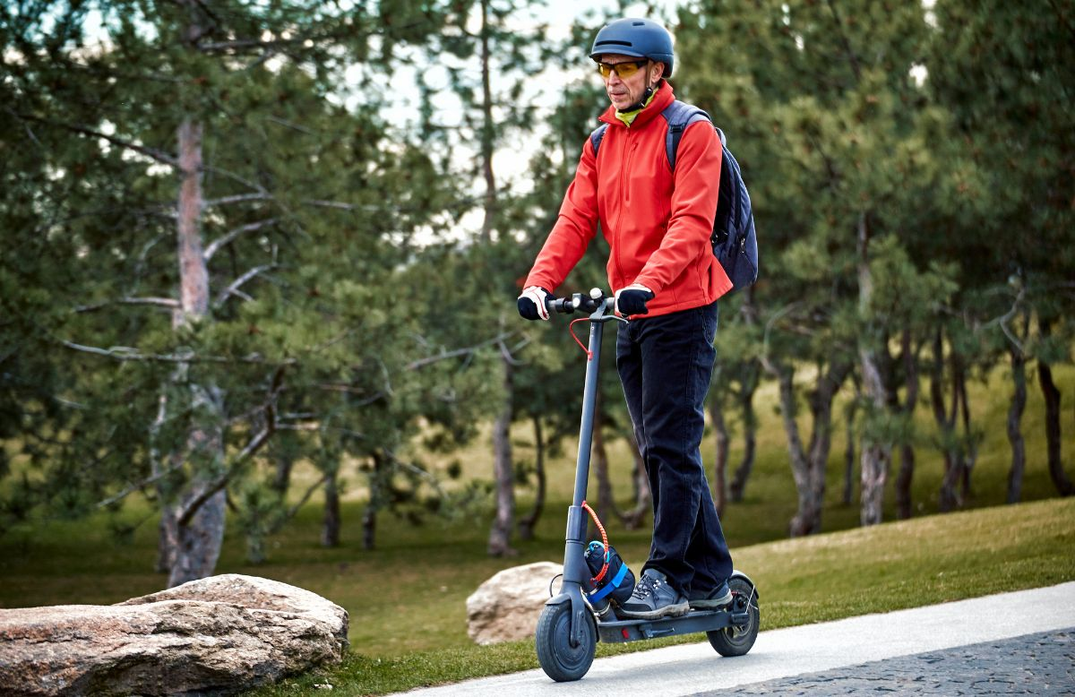 How To Ride An Electric Scooter Safely