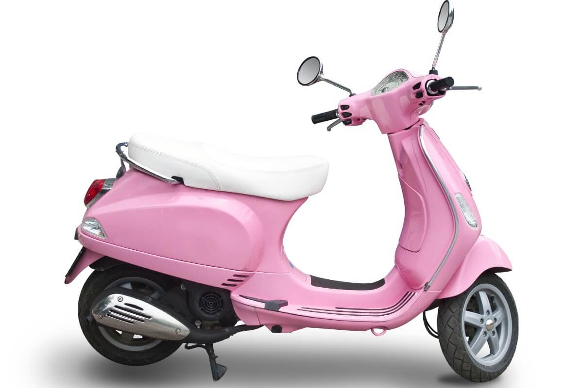 Pink Electric Scooters With Seats