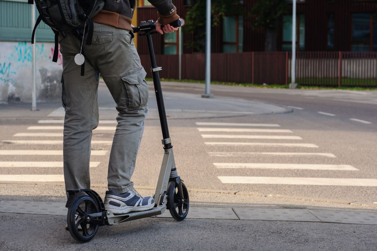 Rules for Electric Scooter on the Sidewalk