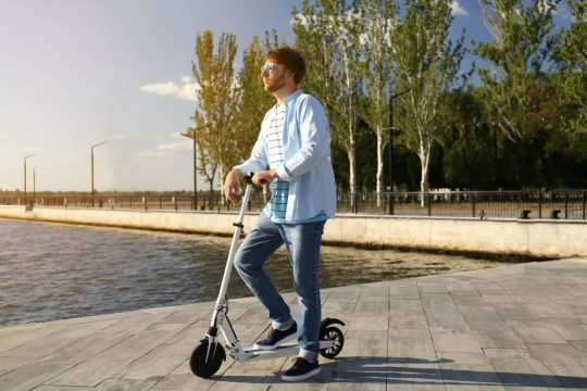 Two Wheeled Stand Up Electric Scooter