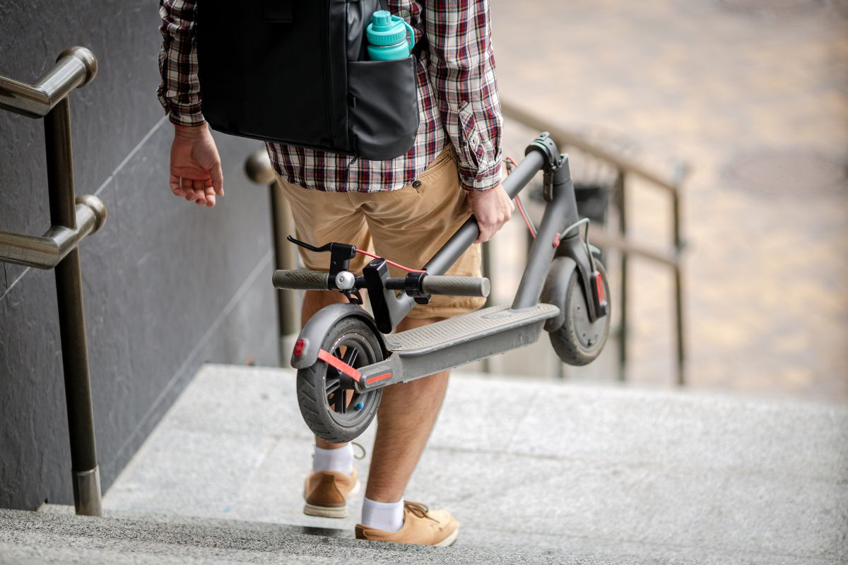 folding electric scooter for adults