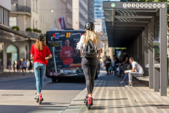 Can You Ride An Electric Scooter On Road