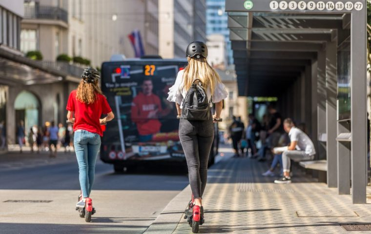 Can You Ride An Electric Scooter On Road?