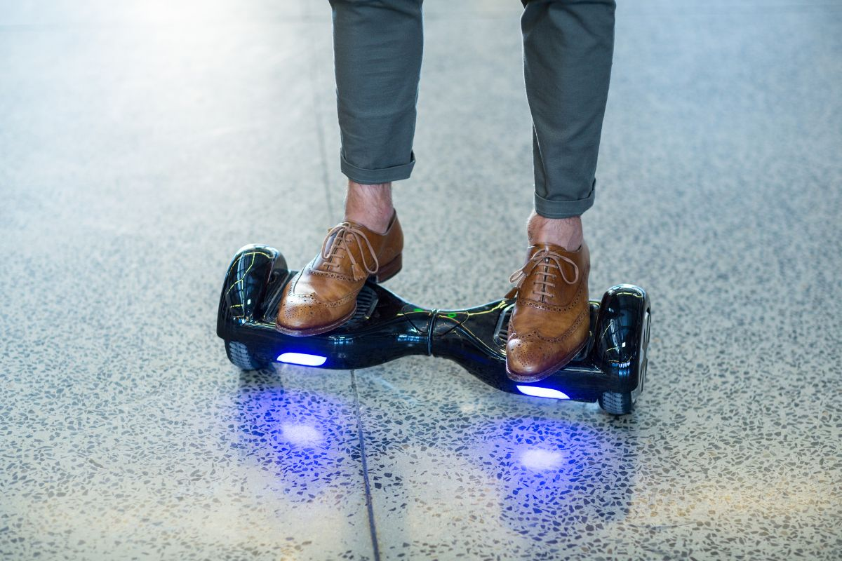 hoverboard with light